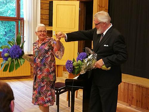 Maija Weitz ja Jaakko Ryhänen