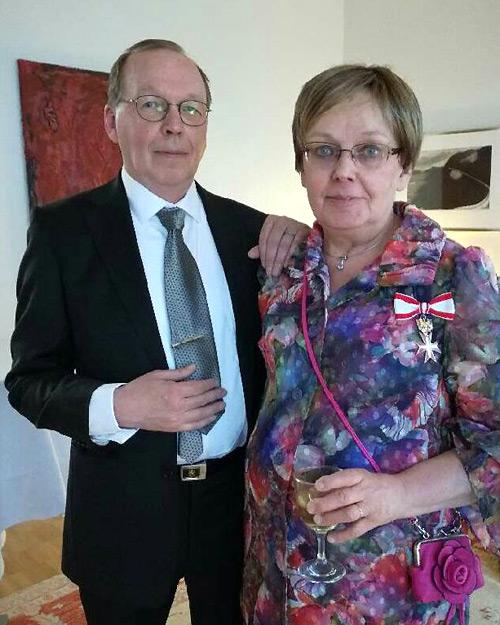 Sampo Syrjänen ja Maija Weitz