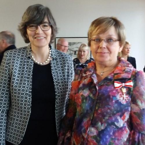 Elisabeth Kehrer ja Maija Weitz