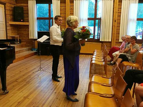 Tuomas Katajala ja Maija Weitz
