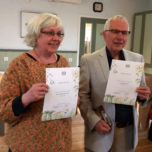 Maija Weitz ja Veli-Pekka Mattila